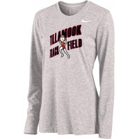 Tillamook Track 13: Nike Women's Legend Long-Sleeve Training Top - Gray