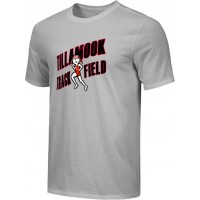 Tillamook Track 14: Adult-Size - Nike Combed Cotton Core Crew T-Shirt - Gray