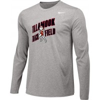 Tillamook Track 12: Adult-Size - Nike Team Legend Long-Sleeve Crew T-Shirt - Gray