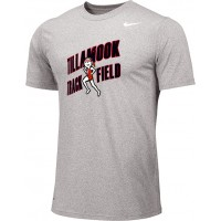 Tillamook Track 10: Adult-Size - Nike Team Legend Short-Sleeve Crew T-Shirt - Gray