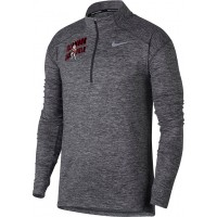 Tillamook Track 17: Nike Element Men's Long Sleeve Running Top - Gray